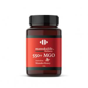 MGO 550+ ManukaLife Australian Manuka honey