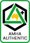 AMHA Mark of Authenticity logo